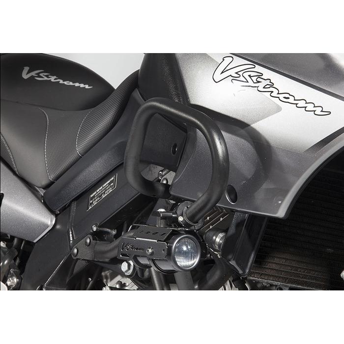 Rigid Light Bar >> Hella fog lights kit with crash bar brackets for Suzuki V