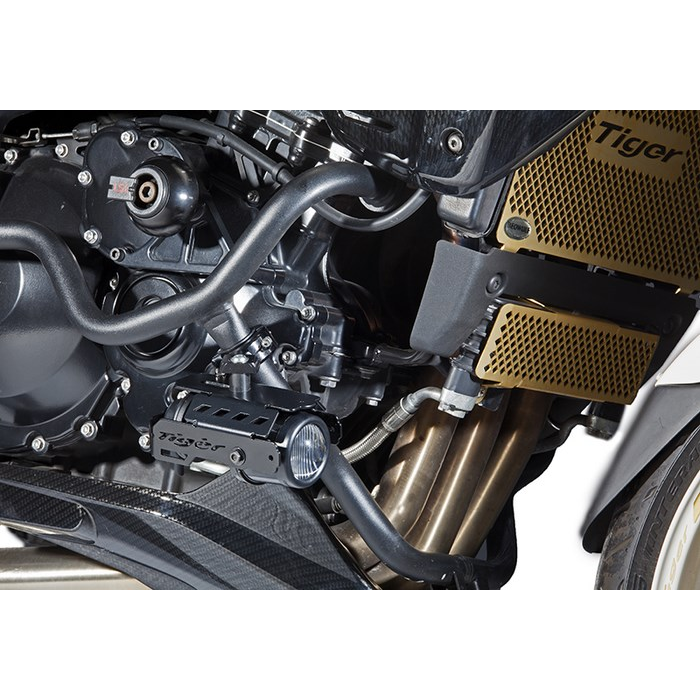 Hella Fog Lights Kit With Crash Bar Brackets For Triumph Tiger